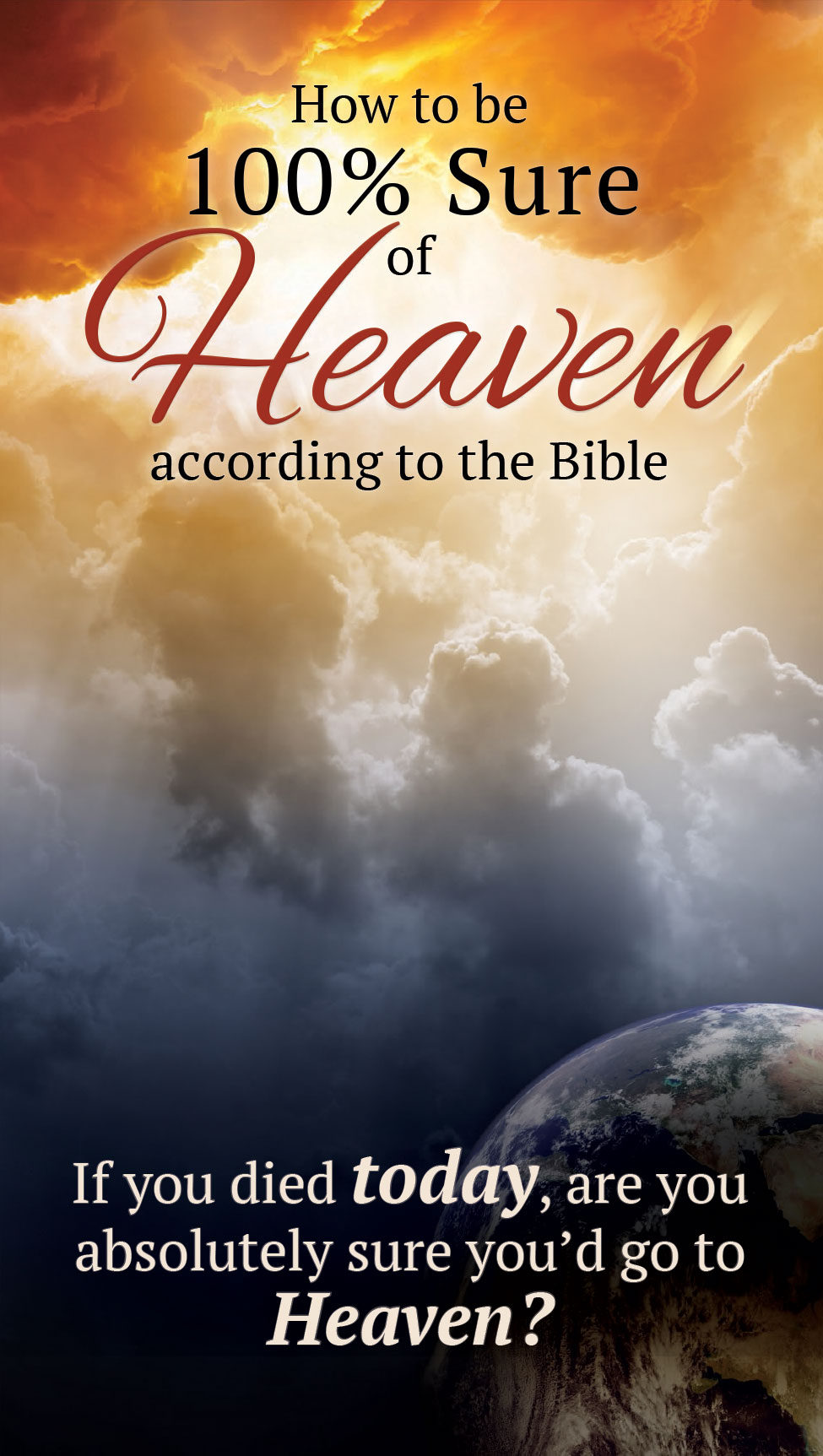 Large Ad Tract Heaven & Earth Cover